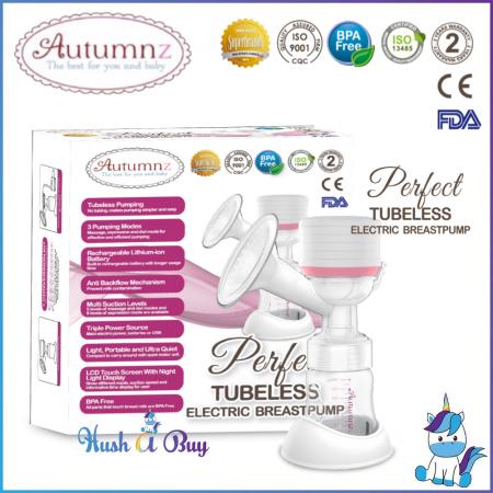 Autumnz Perfect Tubeless / Wireless Single Electric Breastpump - 2 Years Warranty *NEW