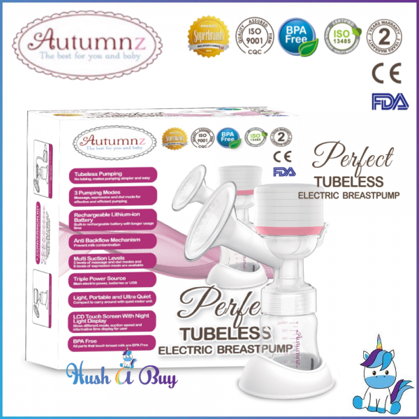Autumnz Perfect Tubeless / Wireless Single Electric Breastpump - 2 Years Warranty *NEW