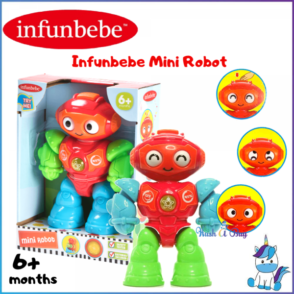 Infunbebe Mini Robot (6+Month)
