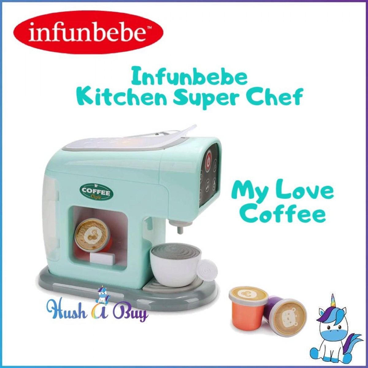 Infunbebe Kitchen Super Chef - My Love Coffee