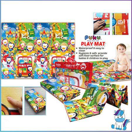 Puku Royal Baby Playmat 195x150cm - CLERANCE