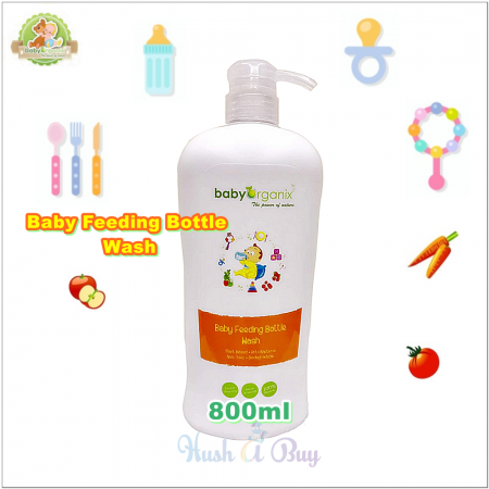 BabyOrganix Baby Feeding Bottle Wash 800ml
