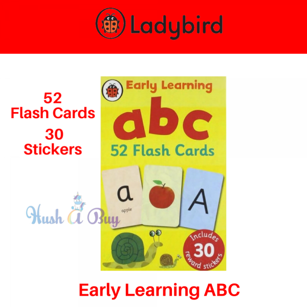 Ladybird Early Learning ABC (52 Flash Cards with Stickers)