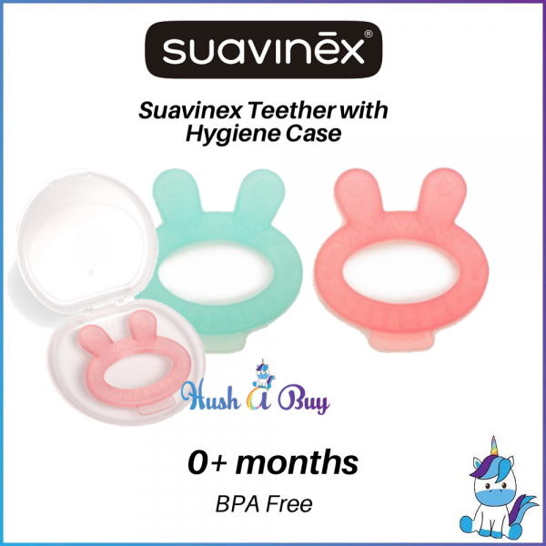 Suavinex Teether with Hygienic case