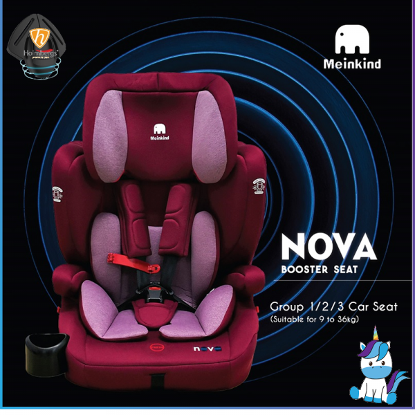 Meinkind Nova Combination Booster for Kids 9-36KG - 4 Years Warranty + Lifetime Service
