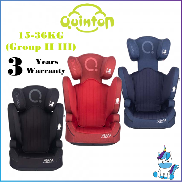 Quinton Vsana Booster Seat for 15-36KG (Group II III) - 3 Years Warranty