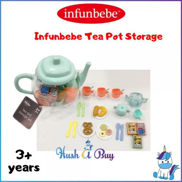 Infunbebe Tea Pot Storage Set - Kitchen Role Play