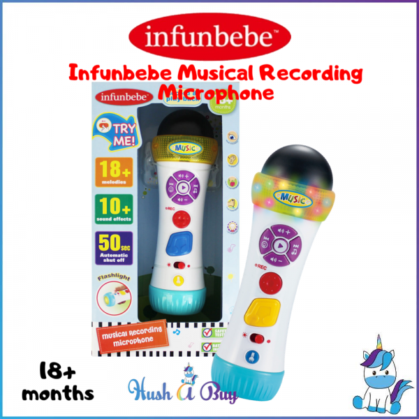 Infunbebe Musical Recording Microphone 18+month