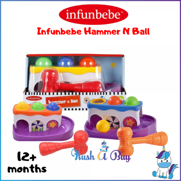Infunbebe Hammer N Ball - 12+month