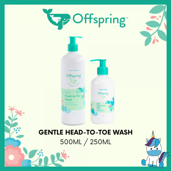 Offspring Gentle Head-to-toe Wash 250ml / 500ml