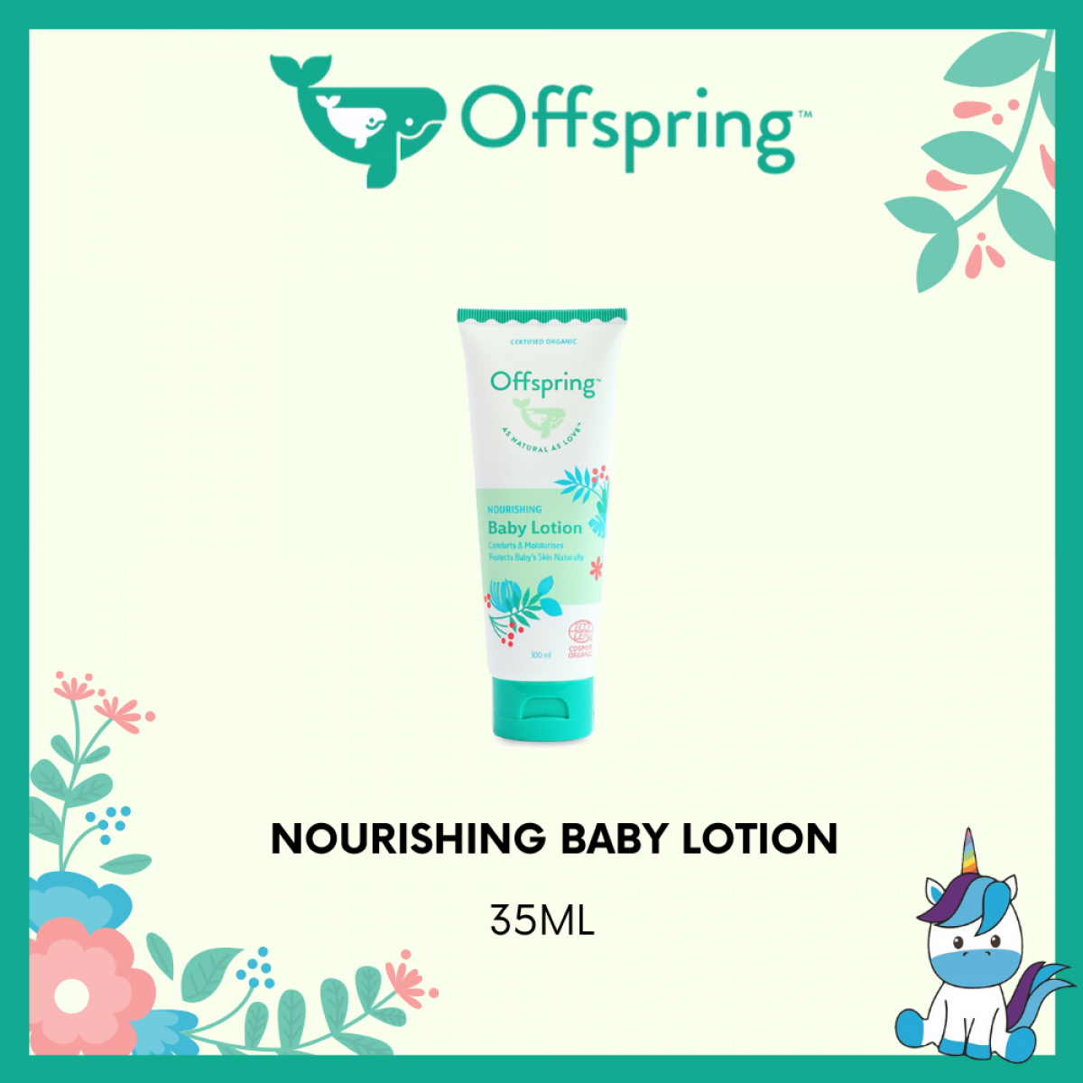 Offspring Organic Nourishing Baby Lotion 35ml / 100ml