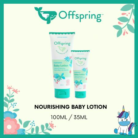 Offspring Organic Nourishing Baby Lotion 35ml / 100ml
