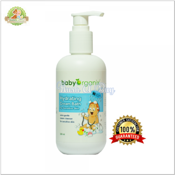 BabyOrganix Hydrating Cream Bath 250ml