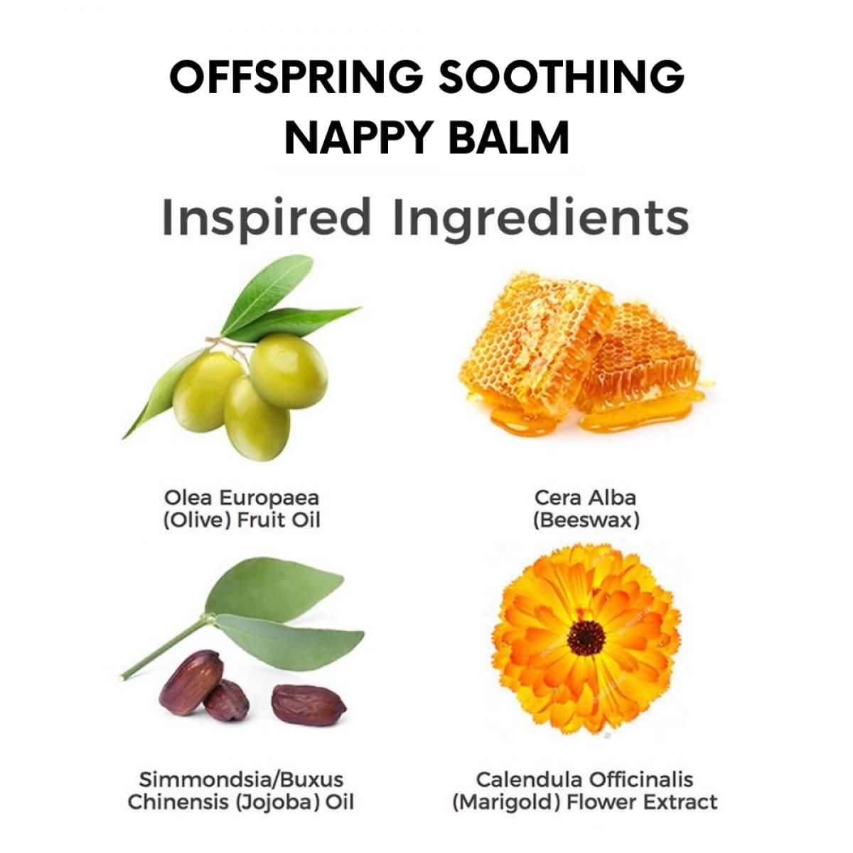 Offspring Organic Soothing Nappy Balm 25ml / 75ml