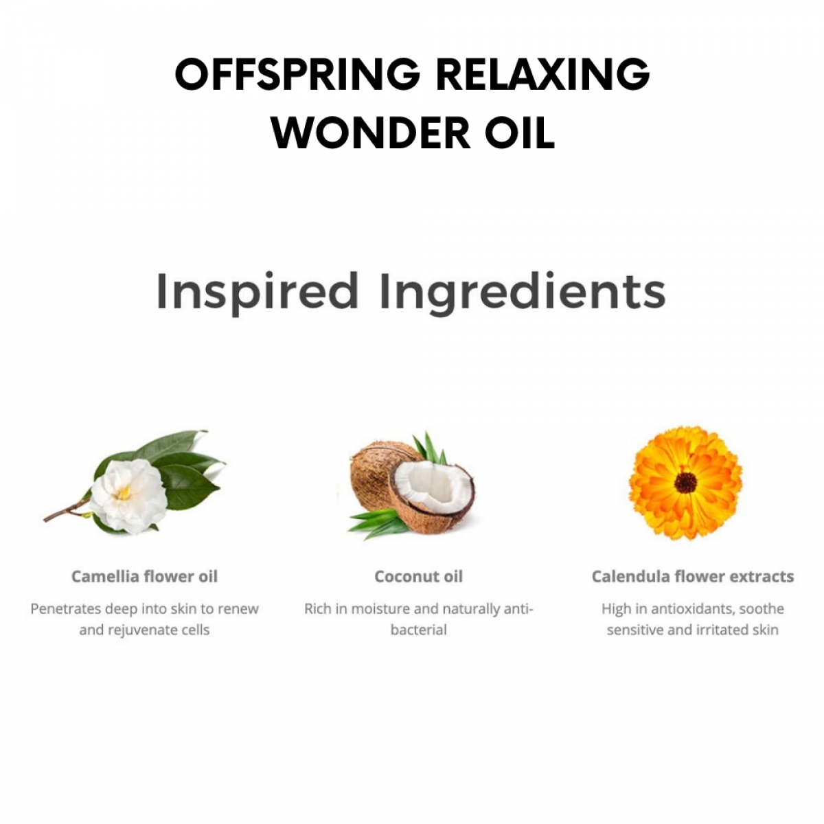 Offspring Relaxing Wonder Oil For Mommy and Baby 10ml / 100ml