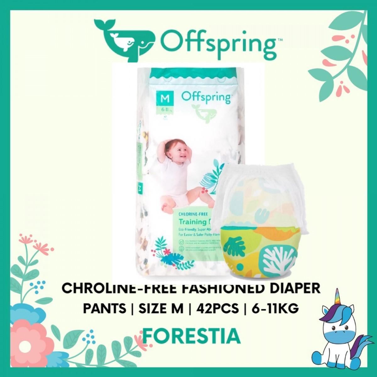 Offspring Chroline-Free Fashioned Pants Diaper M 42pcs - 9 Design