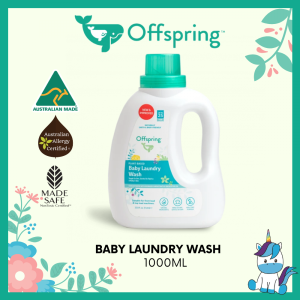 Offspring Organic Laundry Wash 1L - Product of Autstralia *NEW