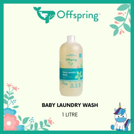 Offspring Organic Laundry Wash 1L - Product of Autstralia