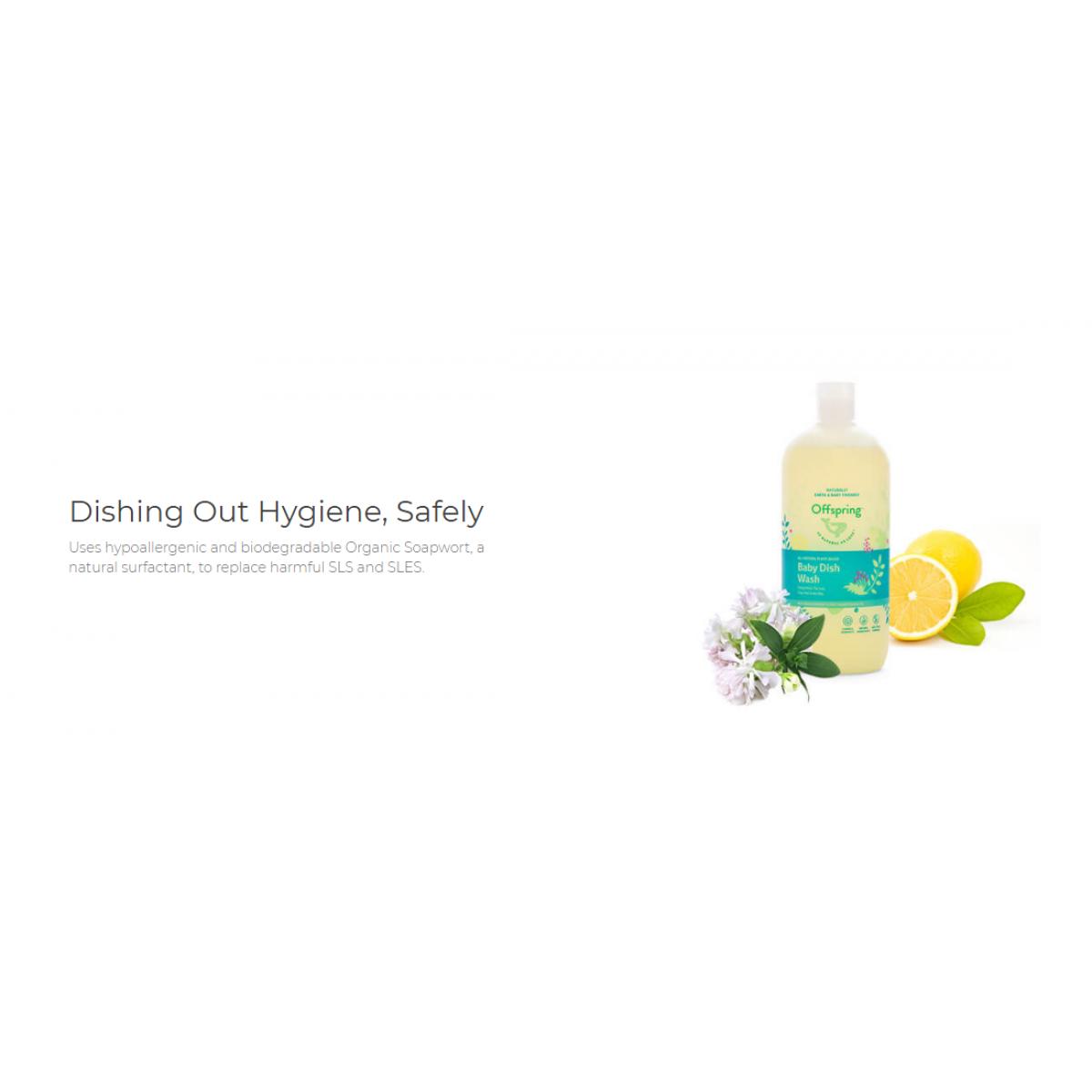 Offspring Organic Baby Dish Wash 500ml - Product of Autstralia