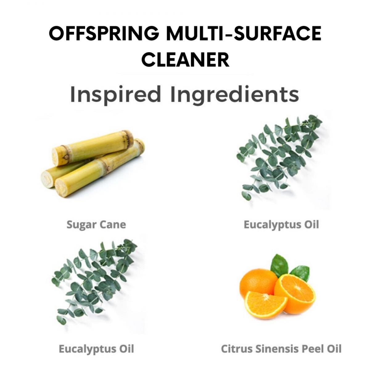 Offspring Organic Baby Multi-surface Spray 500ml - Product of Autstralia