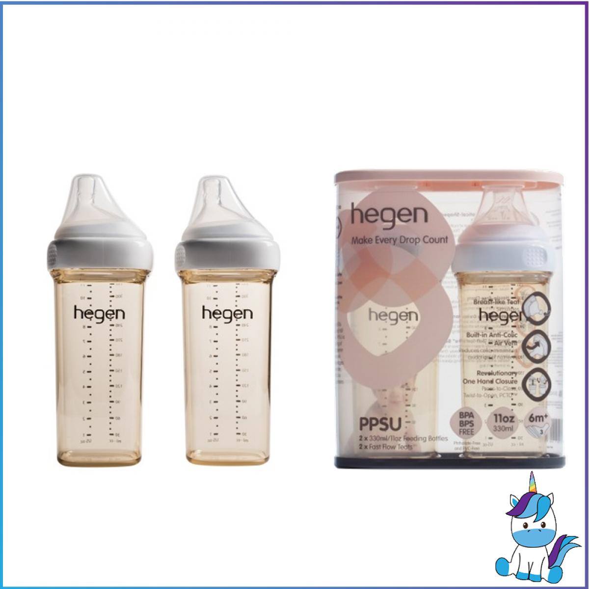 Hegen PCTO™ 150/240/330ml Feeding Bottle PPSU with Teat