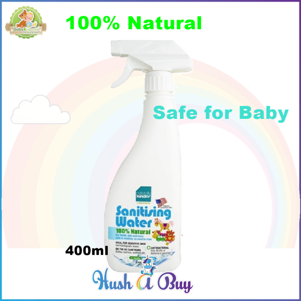 BabyOrganix Naturally Kinder Sanitizing Water 400ml