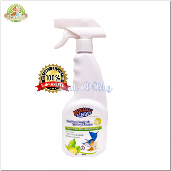 BabyOrganix Naturally Kinder Car Seat Stroller & Nursery Cleanser 500ml