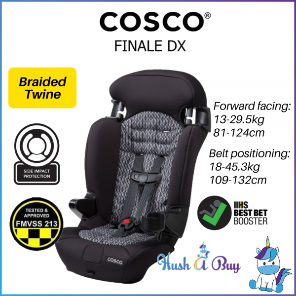 Cosco Finale DX 2-in-1 Booster Car Seat - 1 Year Warranty (13-45kg)