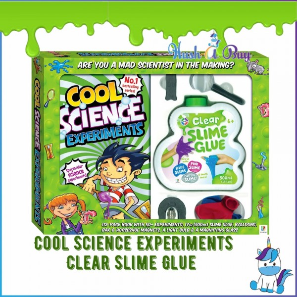 Cool Science Experiments Clear Slime Glue - Science Experiment Kits