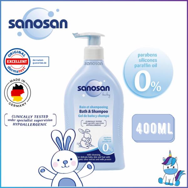 Sanosan Baby Bath & Shampoo 400ml