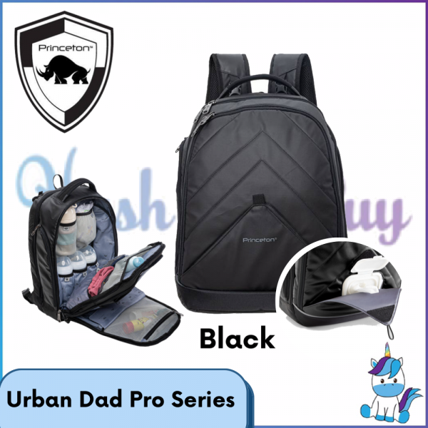 Princeton Bag Urban Dad Pro Series - Black - Lifetime Warranty