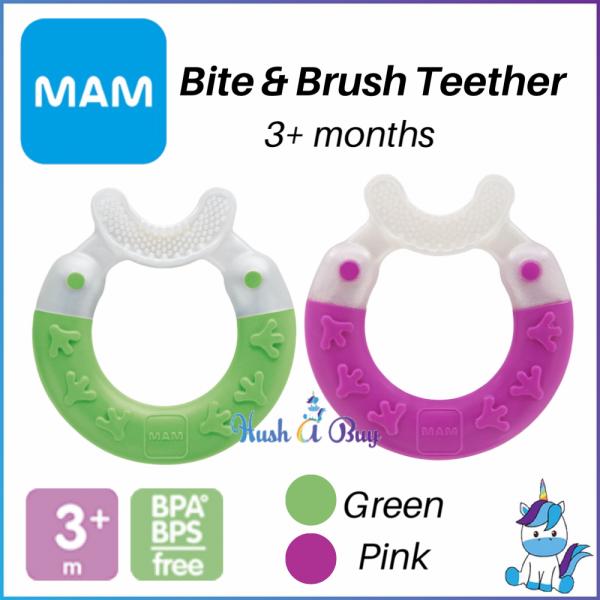 MAM Bite & Brush Teether For 3+ Months