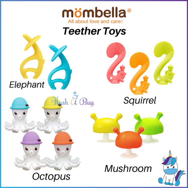 Mombella Teether Toy for 3+ Months
