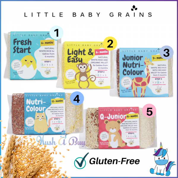 Little Baby Grains (From 6+months - 15+months)