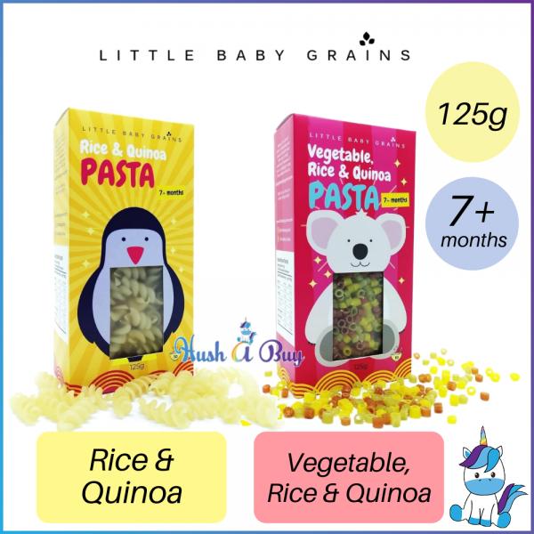 Little Baby Grains Pasta 125g ( Rice & Quinoa // Vegetable, Rice & Quinoa )