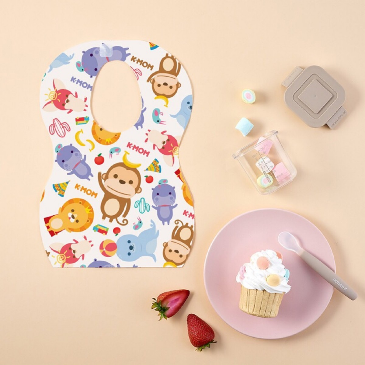 K-Mom Disposable Baby Bibs 20pcs/pack