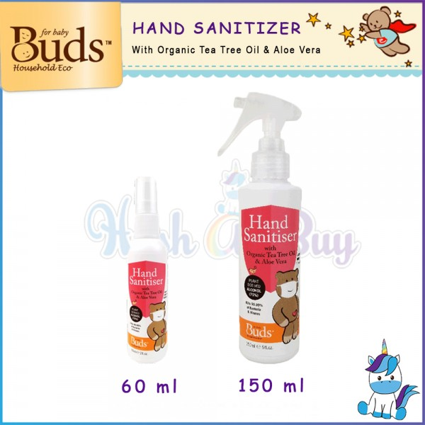 Buds BHE Hand Sanitiser Spray 60ml || 150ml
