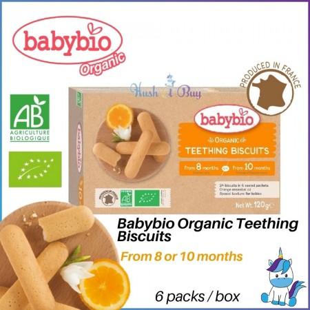 Babybio Organic Teething Biscuits 8/10m+ (120g)
