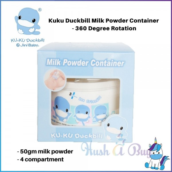 Kuku Duckbill Milk Powder Container - 360 Degree Rotation