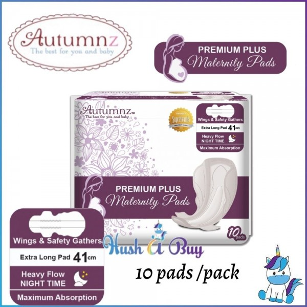 Autumnz PREMIUM PLUS Maternity Pads *41cm* (10 pads per pack) BEST BUY