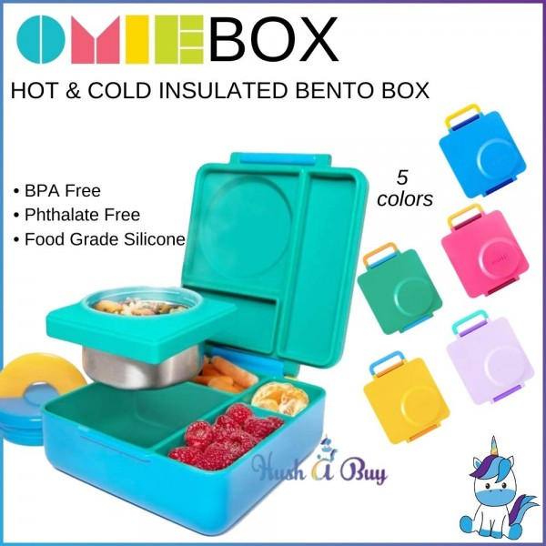 OmieBox Hot & Cold Insulated Bento Box (5 Colors)