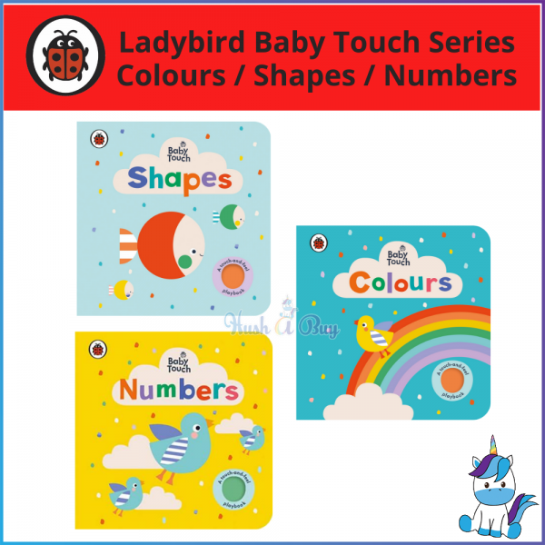 Ladybird Baby Touch: Colours / Shapes / Numbers [A Touch and Feel Playbook]