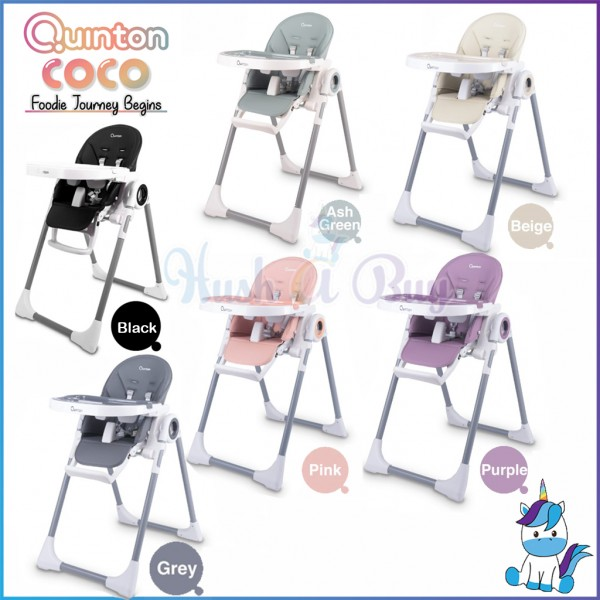 Quinton Multifunction Coco High Chair (from 6months up to 15kg) - 1 Year Warranty