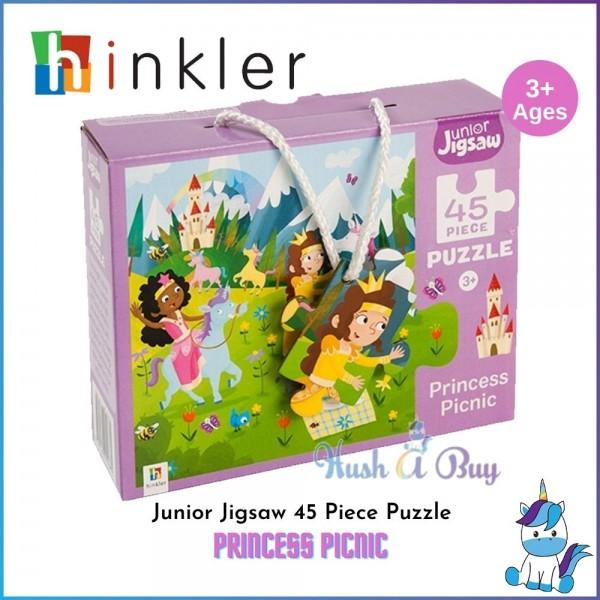 Hinkler Junior Jigsaw 45 Piece Puzzle: Princess Picnic