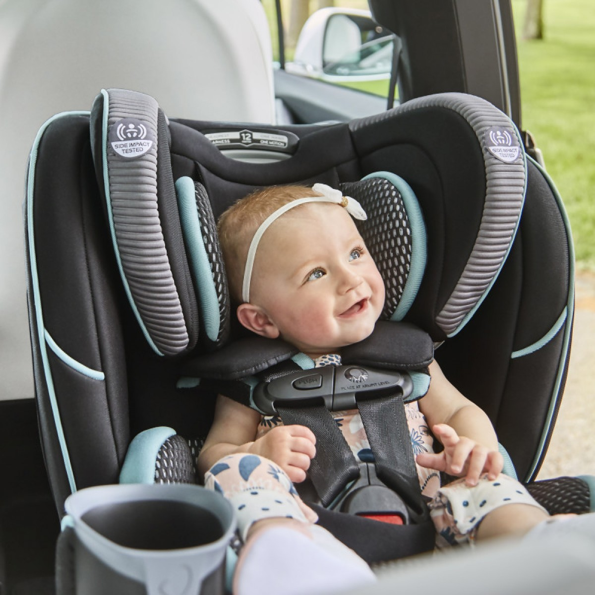 EVENFLO EveryFit 4-in-1 Car Convertible Seat - Made in USA (0-54kg)