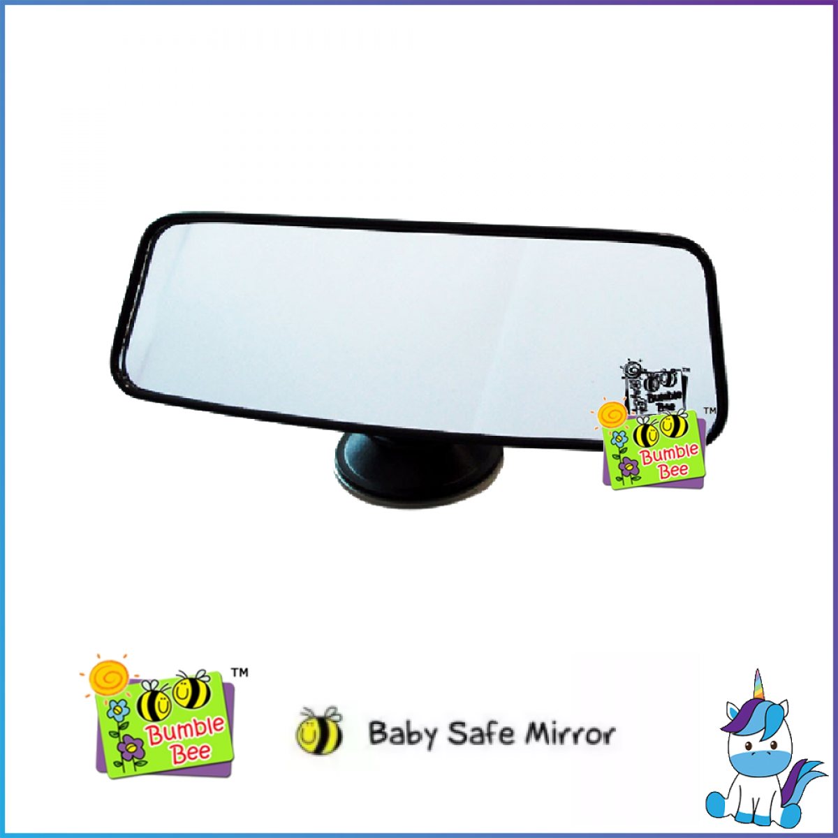 Bumble Bee Baby Safe Mirror