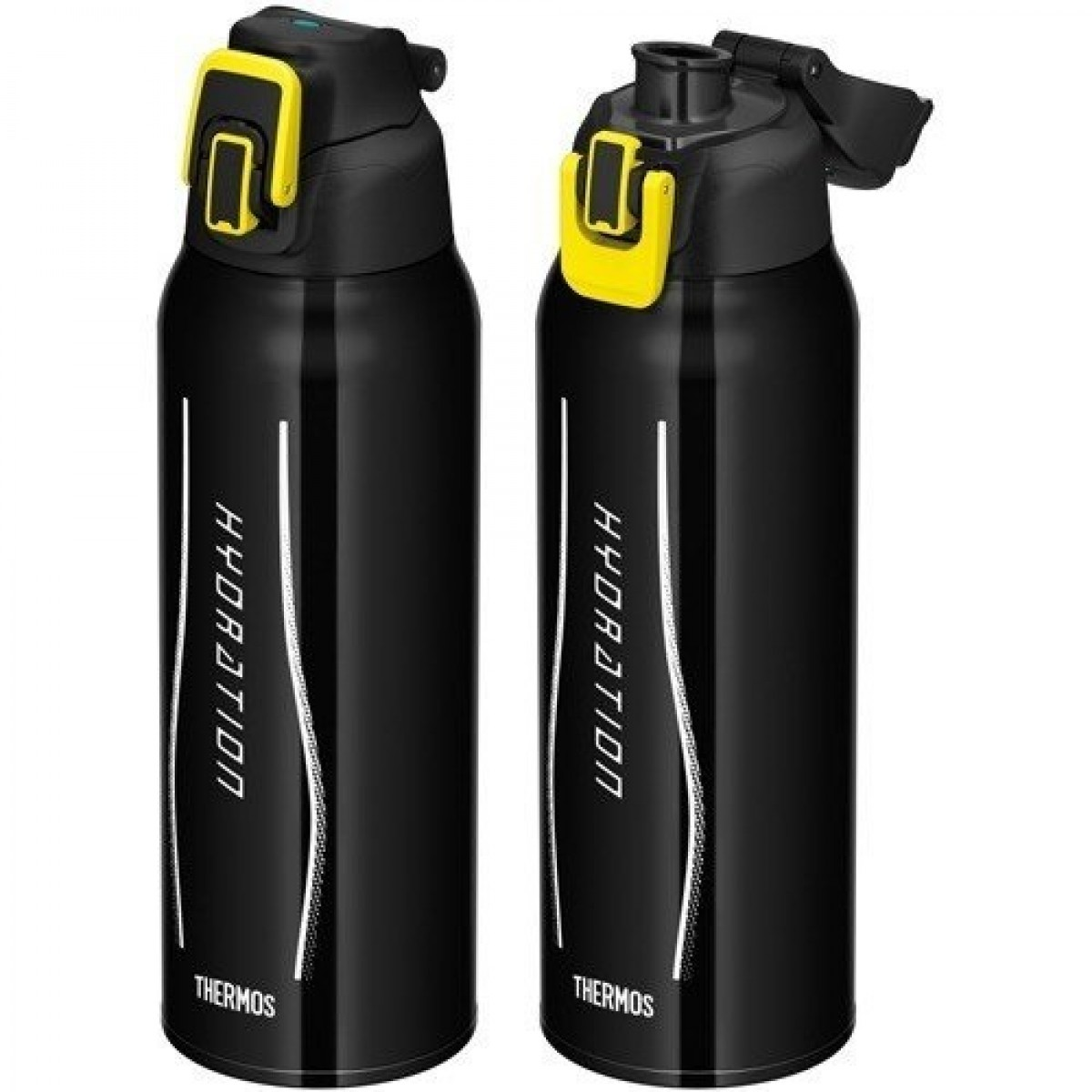 Thermos 1.0L FHT-1000F Vacuum Insulated Sport Bottle with Pouch