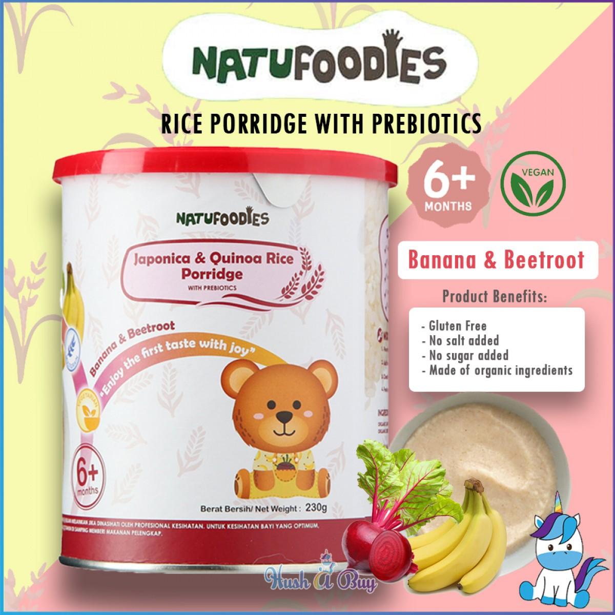 Natufoodies Organic Rice Porridge 200g (6+m)