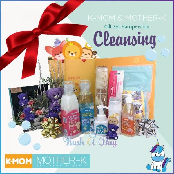 K-MOM & MOTHER-K Gift Set Hampers for Cleansing