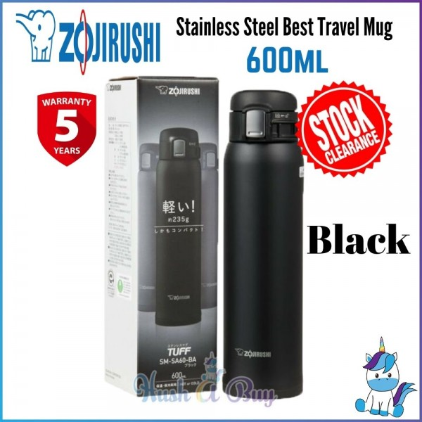 Zojirushi Stainless Steel Best Travel Mug Black 600ml [STOCK CLEARANCE]